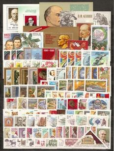 Soviet Union 1981/1984 - collection - Michel 5028/5467