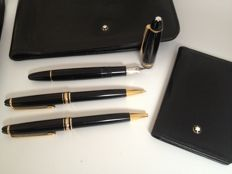Complete Mont Blanc Stationary set