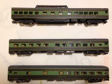 Rivarossi H0 - 2764/2765/2766 - lot of 3 Northern Pacific passenger cars