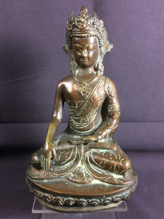 Bronze Buddha - Nepal - late 20th century