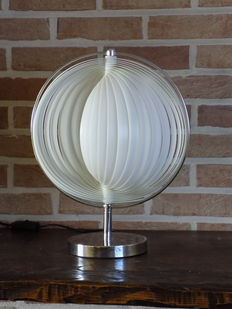 "Unknown designer - ""Moon"" table lamp"