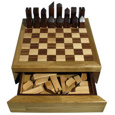 Vitosalerno-chessboard made entirely by hand