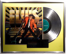 """Elvis Presley - The Sun Collection - 12"""" german Starcall platinum plated record with cover by WWA Awards"""
