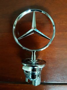 Mercedes-Benz hood ornament - height 130 mm - second half 20th century