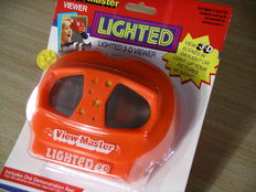 """View-Master Lighted Viewer Model """"N"""" from 1992/1995 with Preview Reel"""