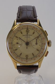 Printania chronograph – men's watch – 1950s