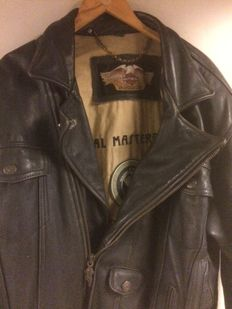 Original leather Harley-Davidson jacket - size L