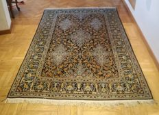 Persian hand-knotted carpet - Kashan, 220x140 - Persia - 50 years