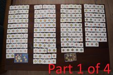 Europe - Collection of various Euro coins 1999/2016 (643 pieces)
