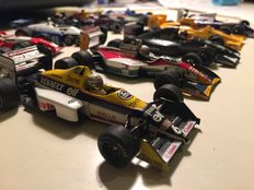 Various - Scale 1/43 - Lot with 10 F1 models: Williams, Tyrrell, Toyota & Indy Car