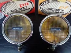 Carello - fog lights Sirio model period 70s