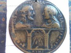 Ancient Masonic high priest medal