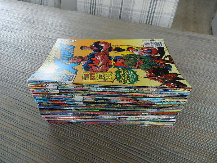 Marvel Comics - X-Force Vol.1  x 31 SC, Ultimate X-Men x 10 S And More - 58x SC (1990-2007)