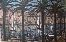 Bernard Buffet (after) - Vue de Saint Tropez
