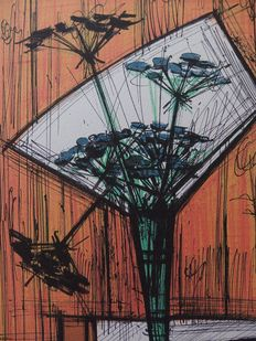 Bernard Buffet (after) - Les Ombelles