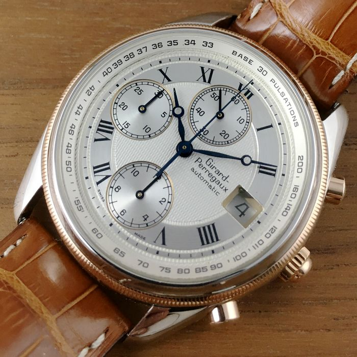 Girard Perregaux 4900 Manufacture Classic Chronograph - Men´s Watch
