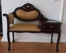 Entrance sofa with Desk, Italy, 2st Half of the 20th century