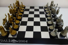 Chess Salvador Dali. The heyday of Surrealism