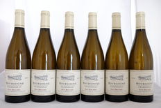 2010, Guy Bocard, Bourgogne, Blanc, Burgundy, France, 6 flessen.
