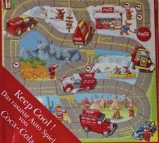 2xCollector's rarity-Board game with Coca Cola vans+ CC Dodge delivery van Matchbox .