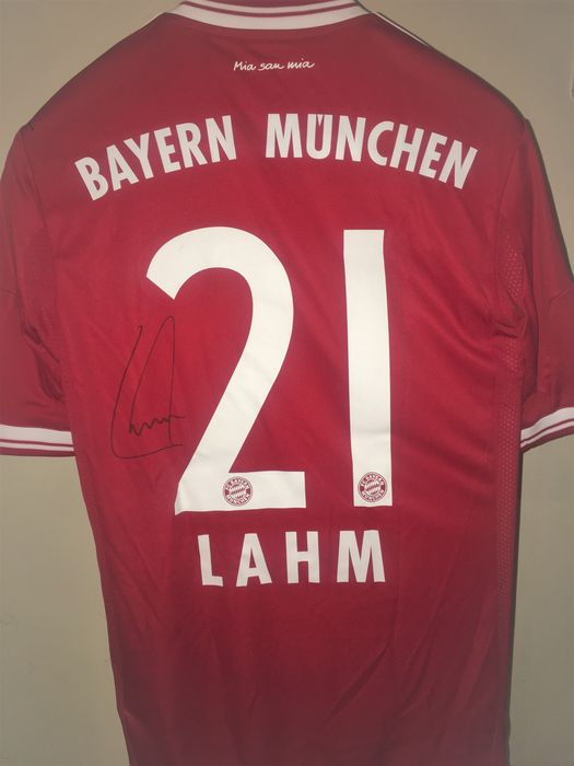 wholesale dealer 95c6a 5f6c0 Signed shirt Philipp Lahm, Bayern Munich, 2012/2013. - Catawiki