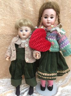 Girl and boy of Armand Marseille, made in Germany