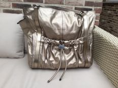 Burberry -  bronze metallic Leather Warrior Tote Bag - Limited Edition
