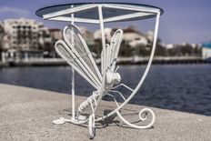 Wrought Iron Dragon-fly Table