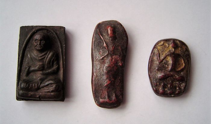 Amulet - Thailand - Beginning of second half of 19th century to first half of 20th century.