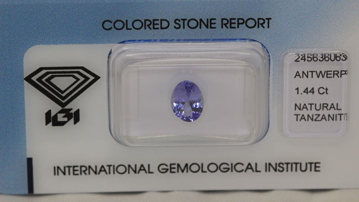 Tanzanite – 1.44 ct – No reserve price