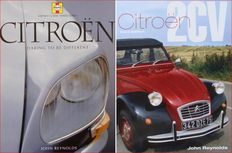 2 Books: Citroen - Daring to be different & Citroën 2CV
