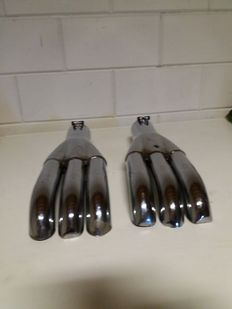 Exhaust end pieces - 1980's