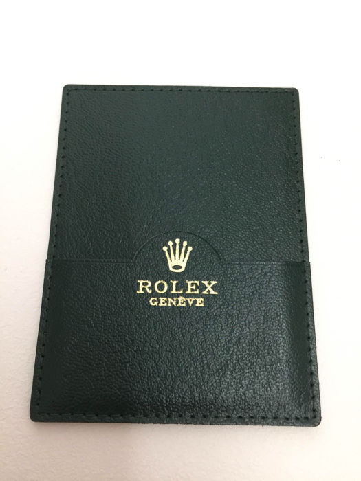 Rolex Explorer 2 card holder ref.  16570 – excellent condition