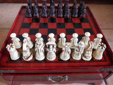 Beautiful Chinese chess set