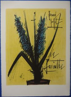 Bernard Buffet (after) - La Jacinthe