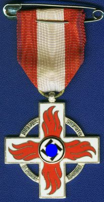 Third Reich. Fire Brigade - Badge of Honour 2nd Class.