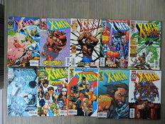 X-Men Universe - o.a. Uncanny X-Men vol.1  21 nrs. + 5 Annuals + diverse losse nrs. - 51x sc - (1991 / 2006)