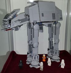 Star Wars - 75054 + 7671 - AT-AT + AT-AP Walker