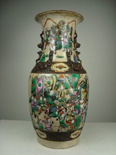 Porcelain Nanking vase – China – second half 19th century
