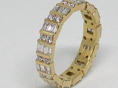 Diamond memory ring 3,04ct.