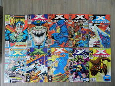 X-Factor Vol.1  41 nrs. + 5 Annuals + X-Factor Vol.2 + X-Factor Vol.3 - 2 nrs. - 55x sc - (1986 / 2006)