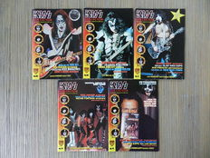 Kiss - 12 comics + Kiss 4K 1-6 + Christmas Special + 3x Psycho Circus trades + 5 Kiss (Fanclub) Collector magazines - 27x sc - 1st edition - (1998 / 2008)