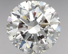 0.50 ct Round Brilliant Diamond D IF IGI - SEALED - Serial# 125
