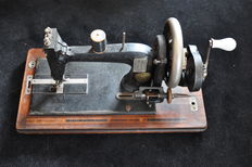 Seidel & Naumann, hand naaimachine, hand sewing machine