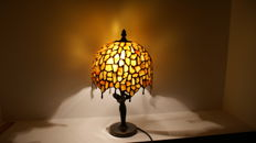 Lamp of natural Polish Baltic amber