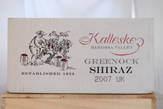 2007, Kalleske Greenock Shiraz, Barossa Valley, Australia, 6 bottles in original case.