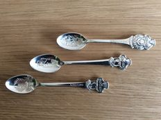 Rolex Bucherer – four teaspoons – second half of the 20th century