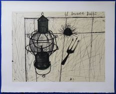 Bernard Buffet (after) - Lampe tempête
