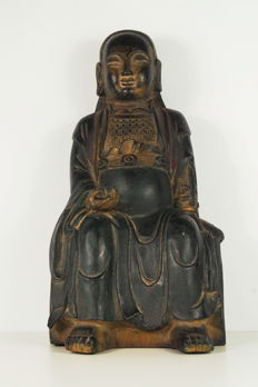 Bronze statue of Xuanwu (Zhenwu) - China - second half of the 20th century
