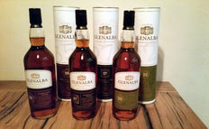 3 bottles - Glenalba set - 35 years, 27 years and 22 years old